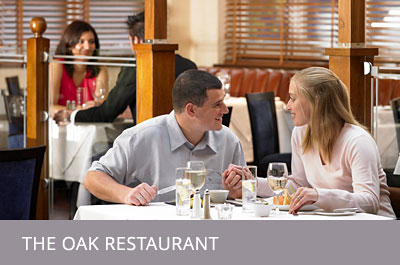 The Oak Restaurant.